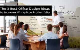 3 Best Office design ideas to increase workplace productivity