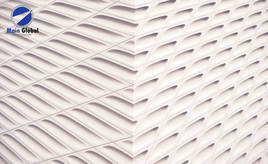 Image of texture zero ghosting writable Texture Corner wall covering