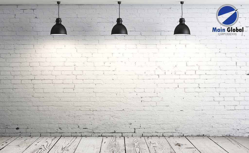 White Brick Lamp zero ghosting writable wall covering