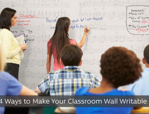 4 Ways to Make Your Classroom Wall Writable